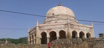 Adham Khan's Tomb, locally known as 'Bhool Bhulaiyya'